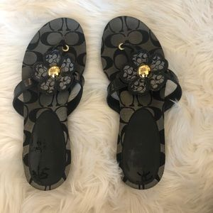 COACH Sherrie Flower Sandal